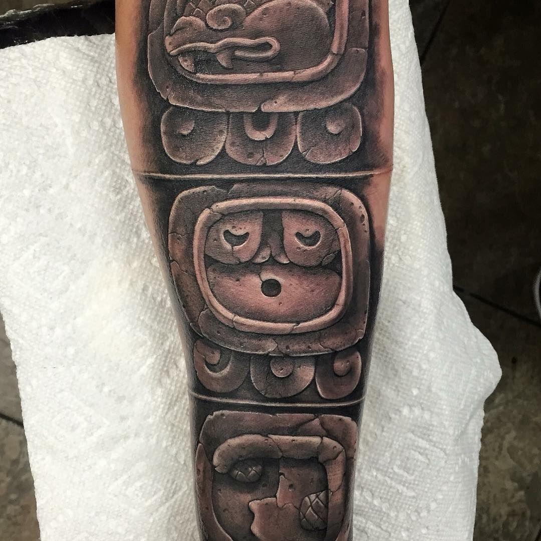 50 symbolic mayan tattoo designs fusing ancient art with modern 50 symbolic mayan tattoo designs fusing ancient art with modern tattoos check more at http buycottarizona Images