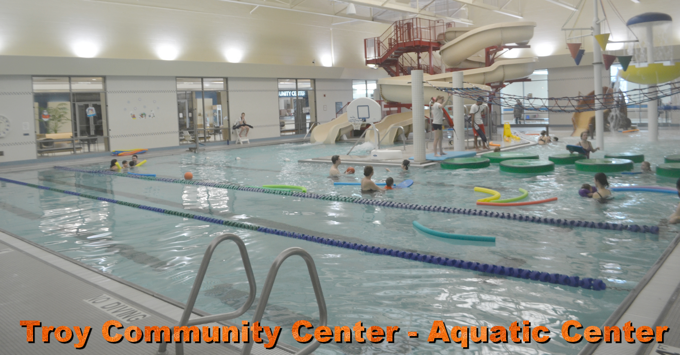 Troy Community Center Indoor Aquatic Center Therapy Pools
