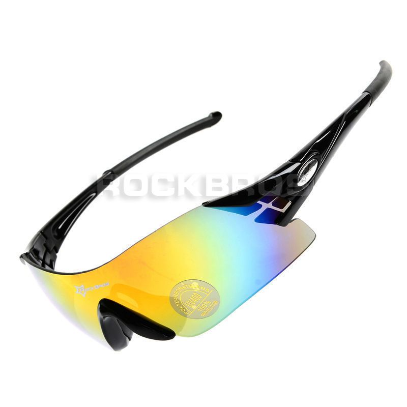 bf376bff7f  7.99 AUD - Rockbros Cycling Sunglasses Bike Bicycle Sports Glasses Goggles  Black  ebay  Lifestyle