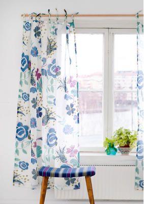 gardinen im dekorativen landhausstil gudrun sj d n vorh nge pinterest gardinen. Black Bedroom Furniture Sets. Home Design Ideas