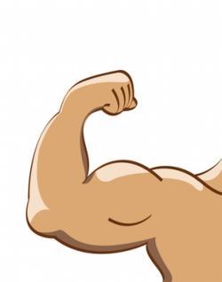 A Cartoon Style Vector Illustration Of A Muscular Arm Flexing In A Bodybuilder Pose Description From Dreamstime Com I Fitness Wallpaper Cartoon Pics Cartoon
