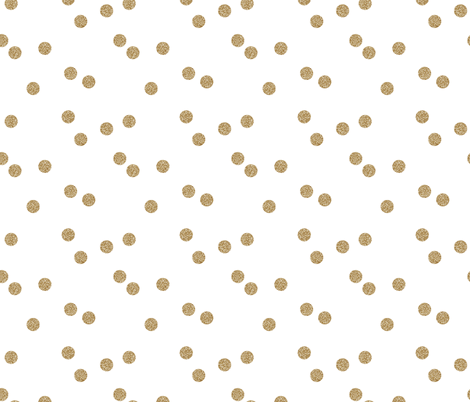 Colorful Fabrics Digitally Printed By Spoonflower Gold Glitter Scattered Polka Dots In 2020 Spoonflower Shop Wallpaper Polka Dot Fabric