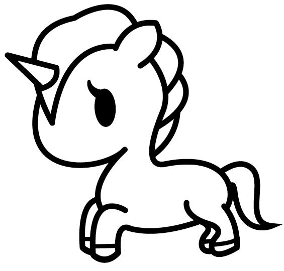 Tokidoki Unicorno Unicorn Base (no wings) by Umbreon72