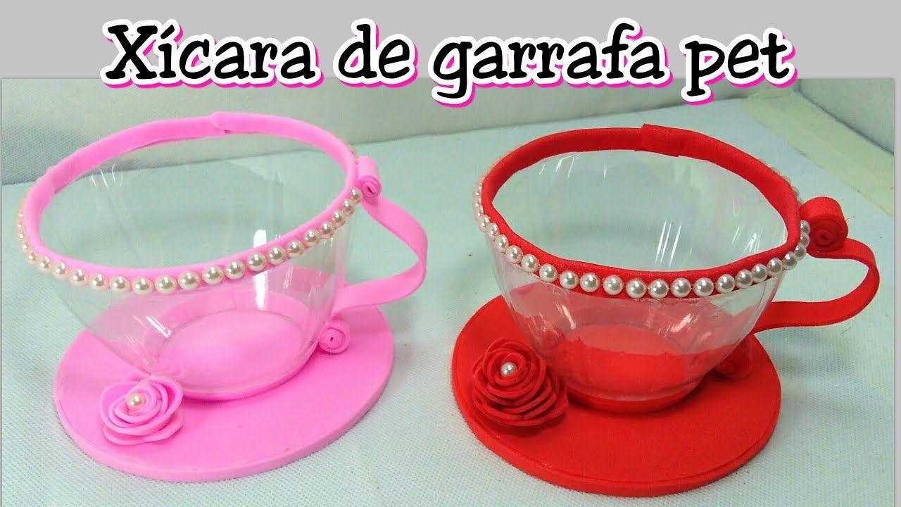 Xicara De Garrafa Pet Use Como Lembrancinha Centro De Mesa
