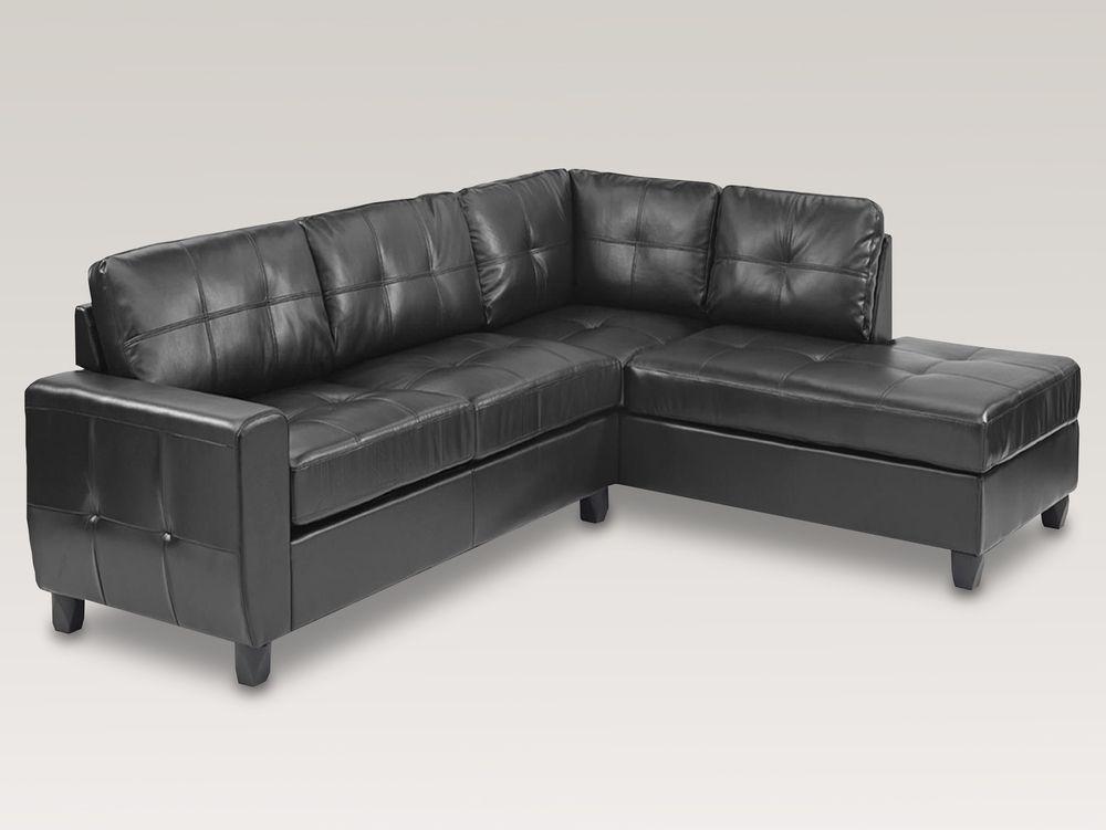 Ideal Furniture Miami Bonded Leather Left Hand Facing Corner Sofa Corner Sofa Fabric Sofa Bed
