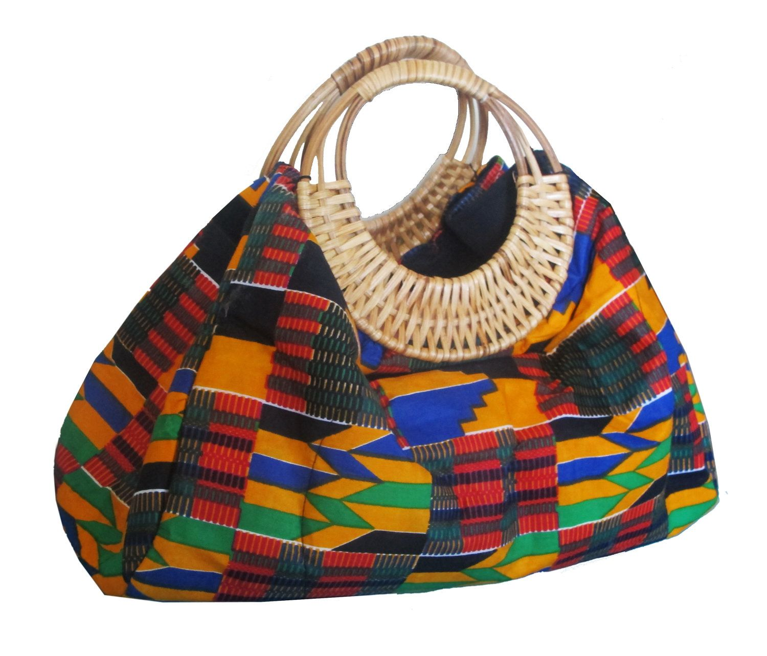 e0b6ae430c74 WANT - Colors of Ghana Kente Purse. by  QuellyRueDesign