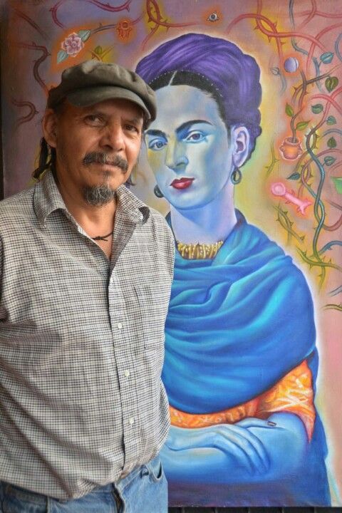 This is Antonio - the artist who carved and painted the (dried upside down) mango tree in the Plaza while I was there Sept. 2013..  I took many photos for him as he worked.  Antonio Lopez Vega - this photograph taken by Maria Di Paola.