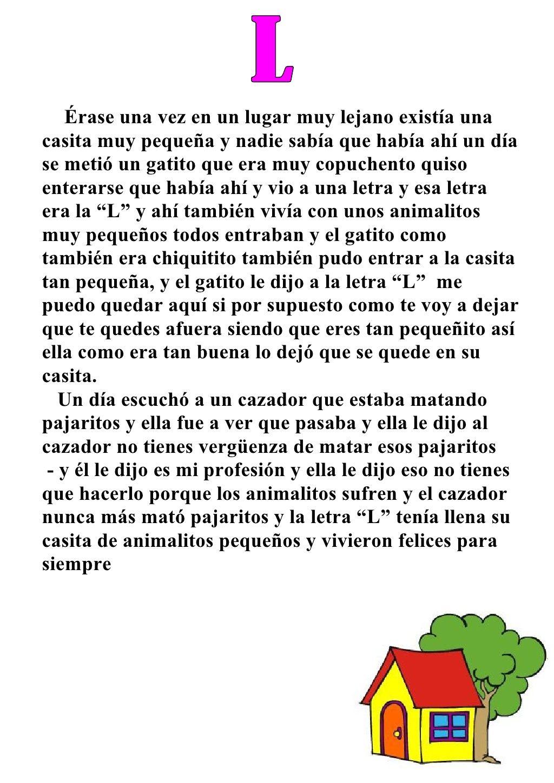 Cuento De La Letra L By Guest922c94 Via Slideshare