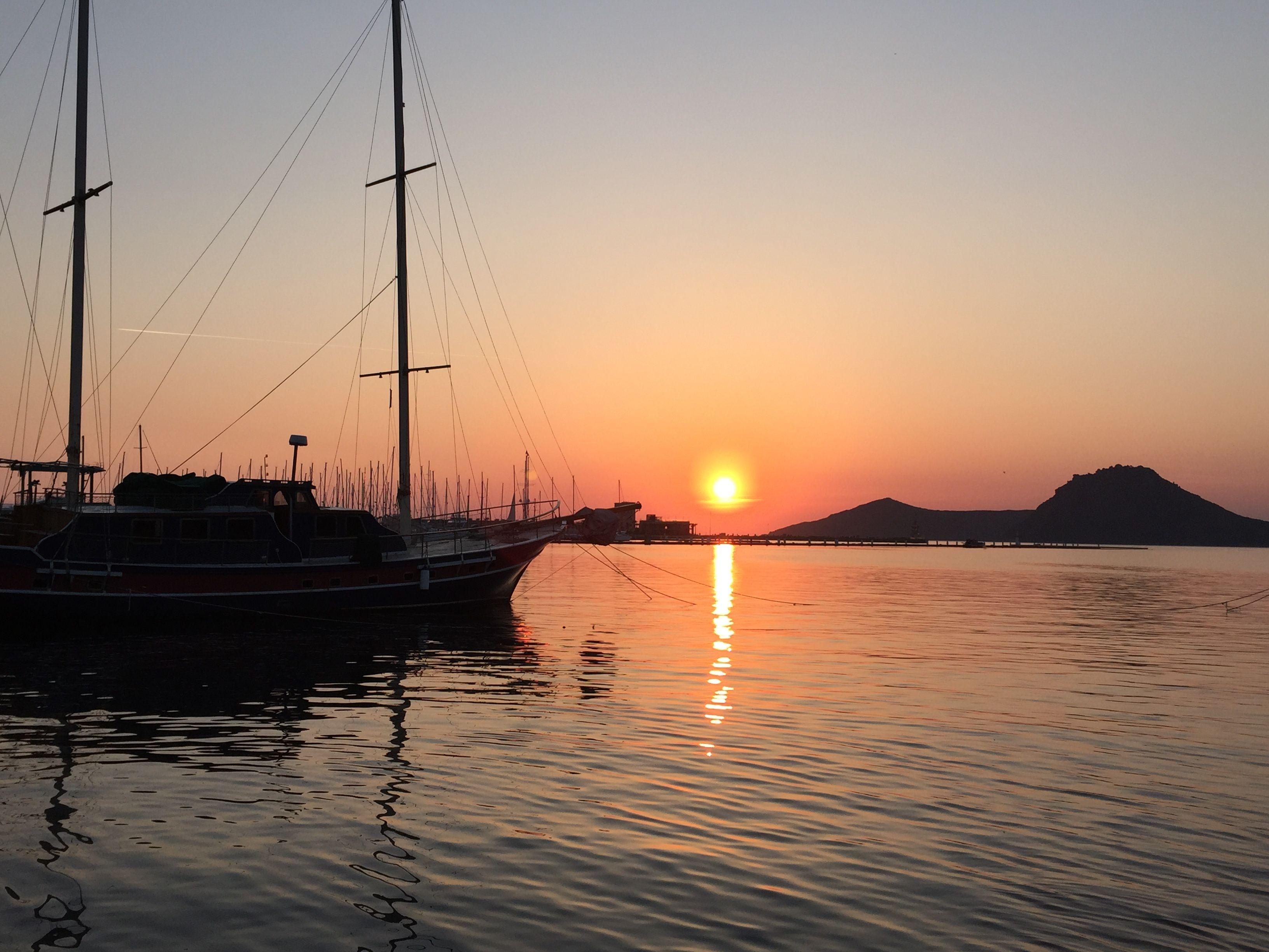 Another perfect #Yalikavak #sunset...