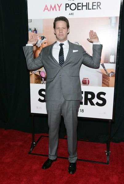 Ike Barinholtz Attends The Sisters New York Premiere Ike