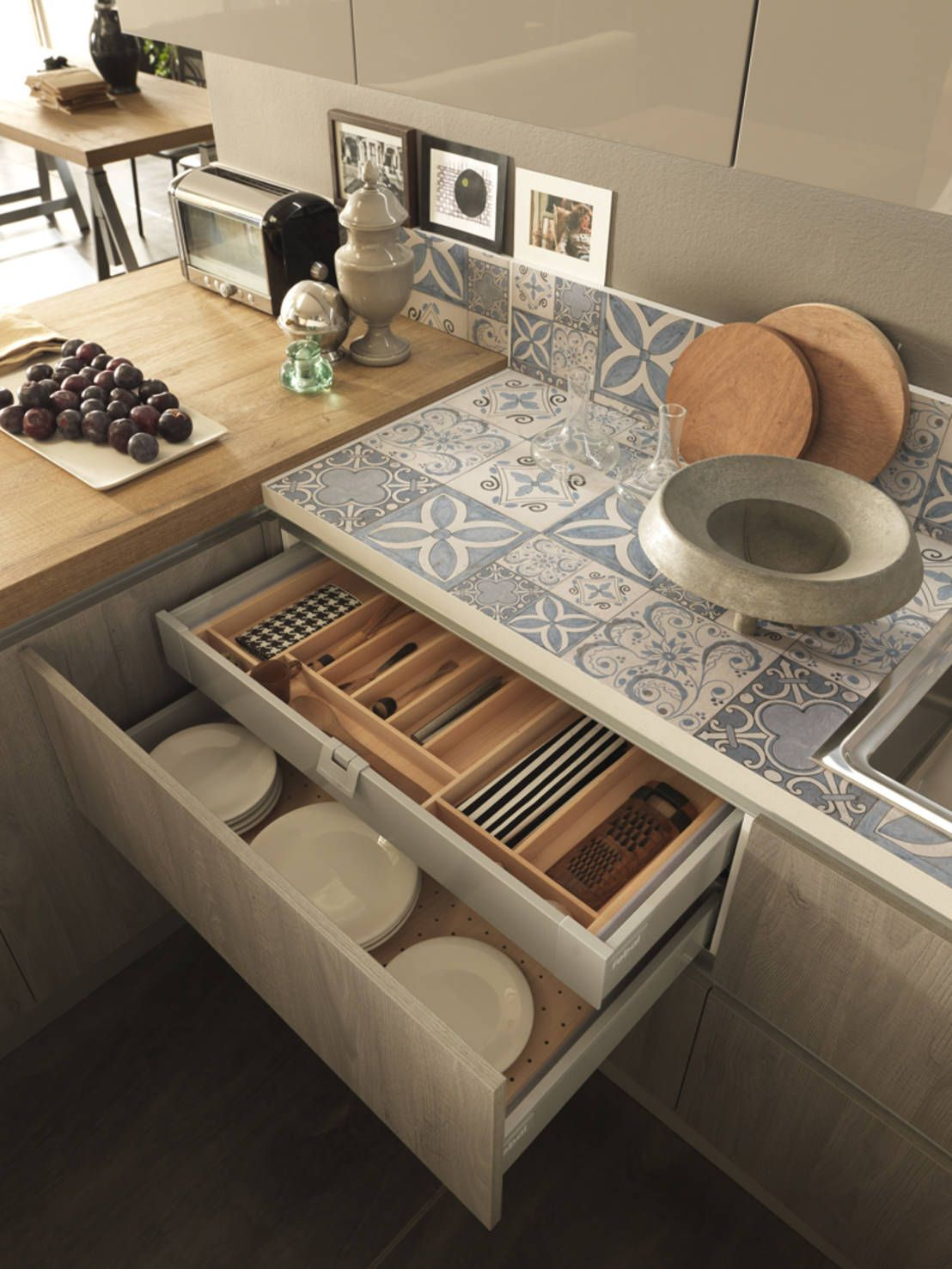 6 pasos para planificar una cocina r stica kitchens ideas para and house - Planificar una cocina ...
