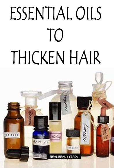 Top Essential Oils For Healthy Hair Growth Hair Cabello