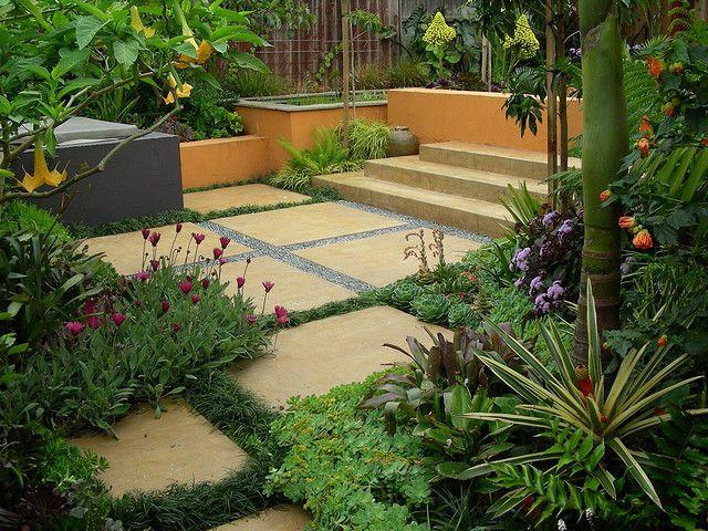 Trejo Garden in Albany, Rear Garden | Gardens, Garden inspiration ...