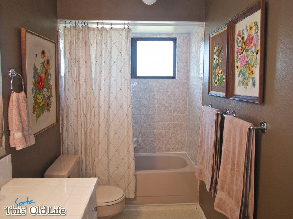 Our Kind of Quickie A Weekend Bathroom Makeover Upstairs