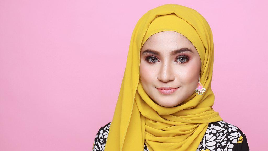 Tutorial Hijab Segi Empat Lilit Leher Id Lif Co Id