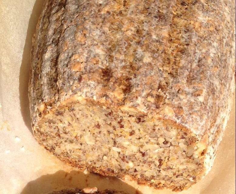 gluten-free grain bread without yeast, simple, delicious ...