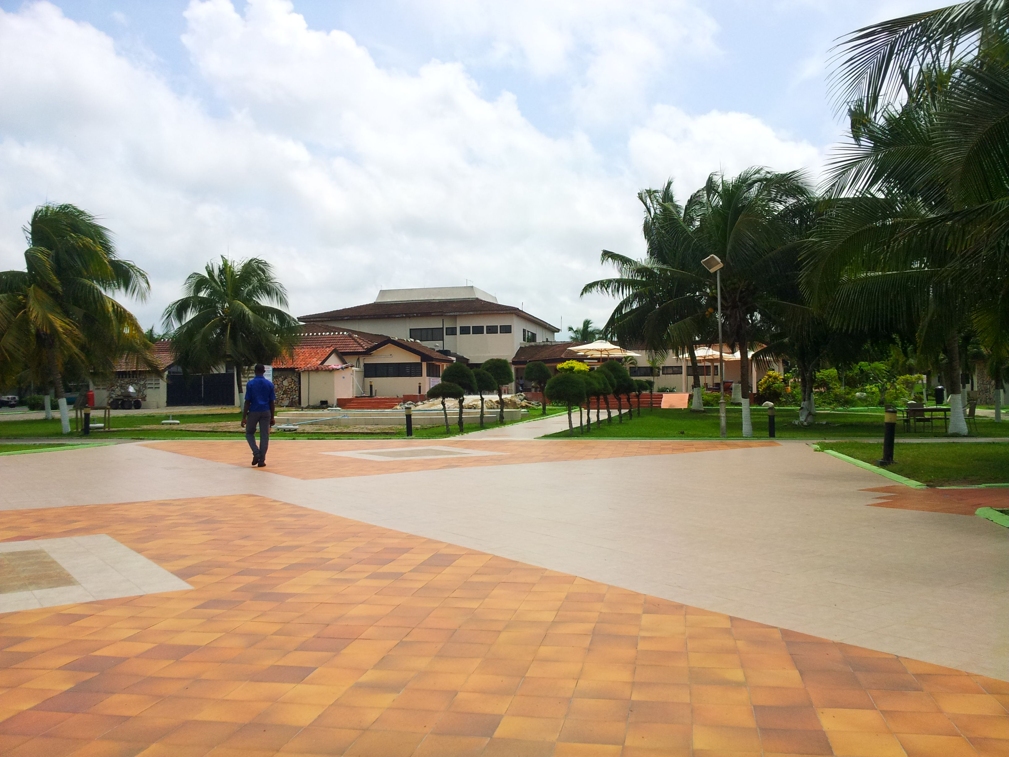 Actual Shot Of Busua Beach Resort In Takoradi Quite Far From Accra But Feels Good Once You Get There