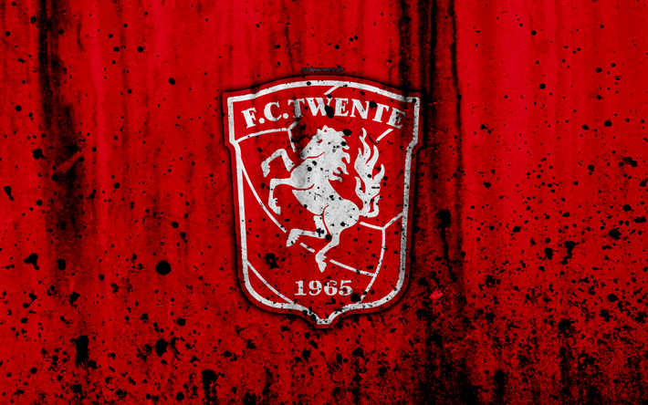 футбол 1 Wallpaper: Download Wallpapers FC Twente, 4k, Eredivisie, Grunge