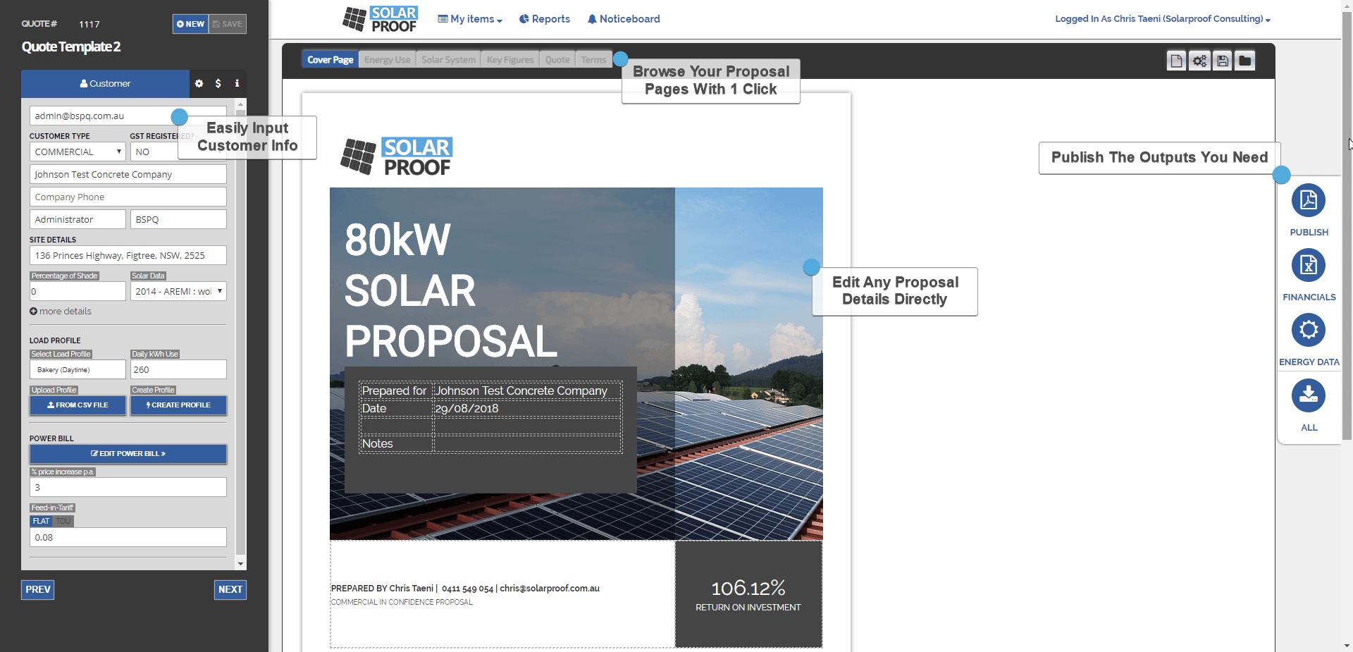Solar Software Screenshot Software, Solar, Marketing