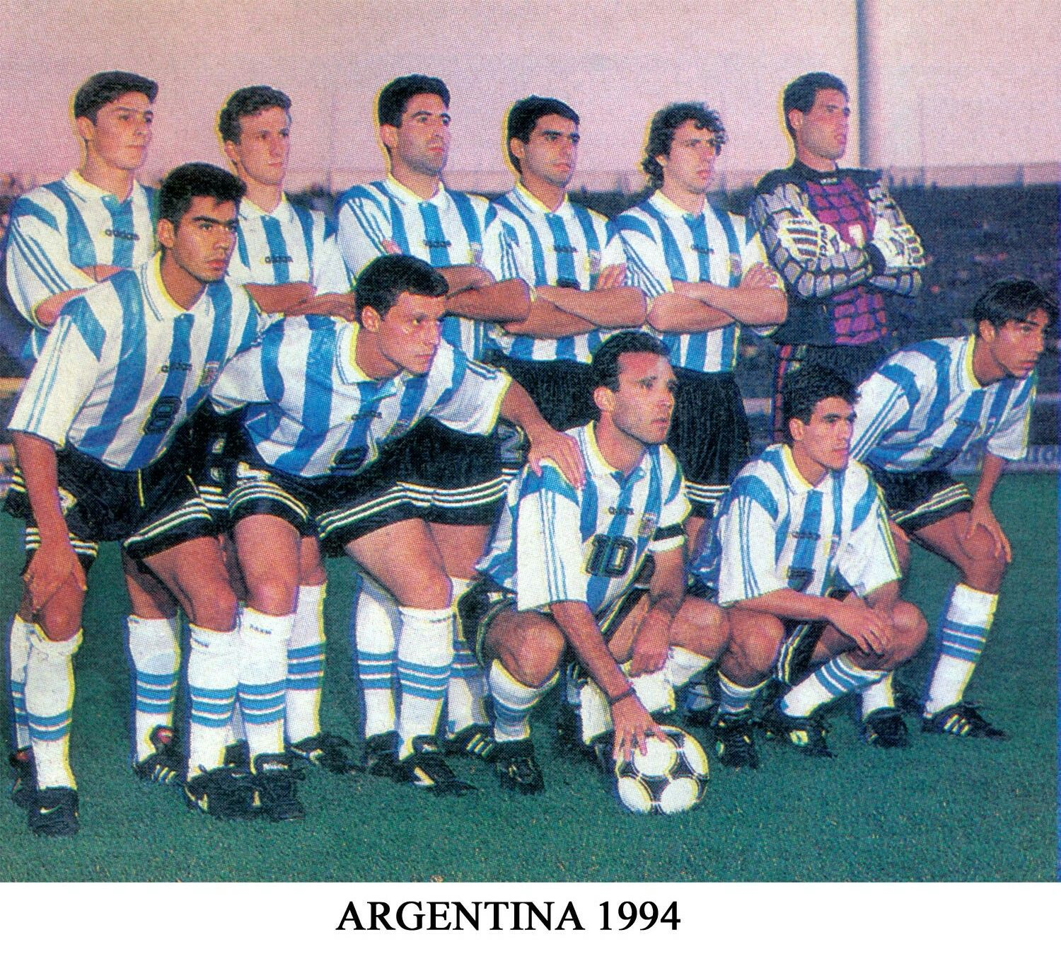 b72b9a0c2f31ea Argentina team group for the 1994 World Cup Finals. | 1994 World Cup ...