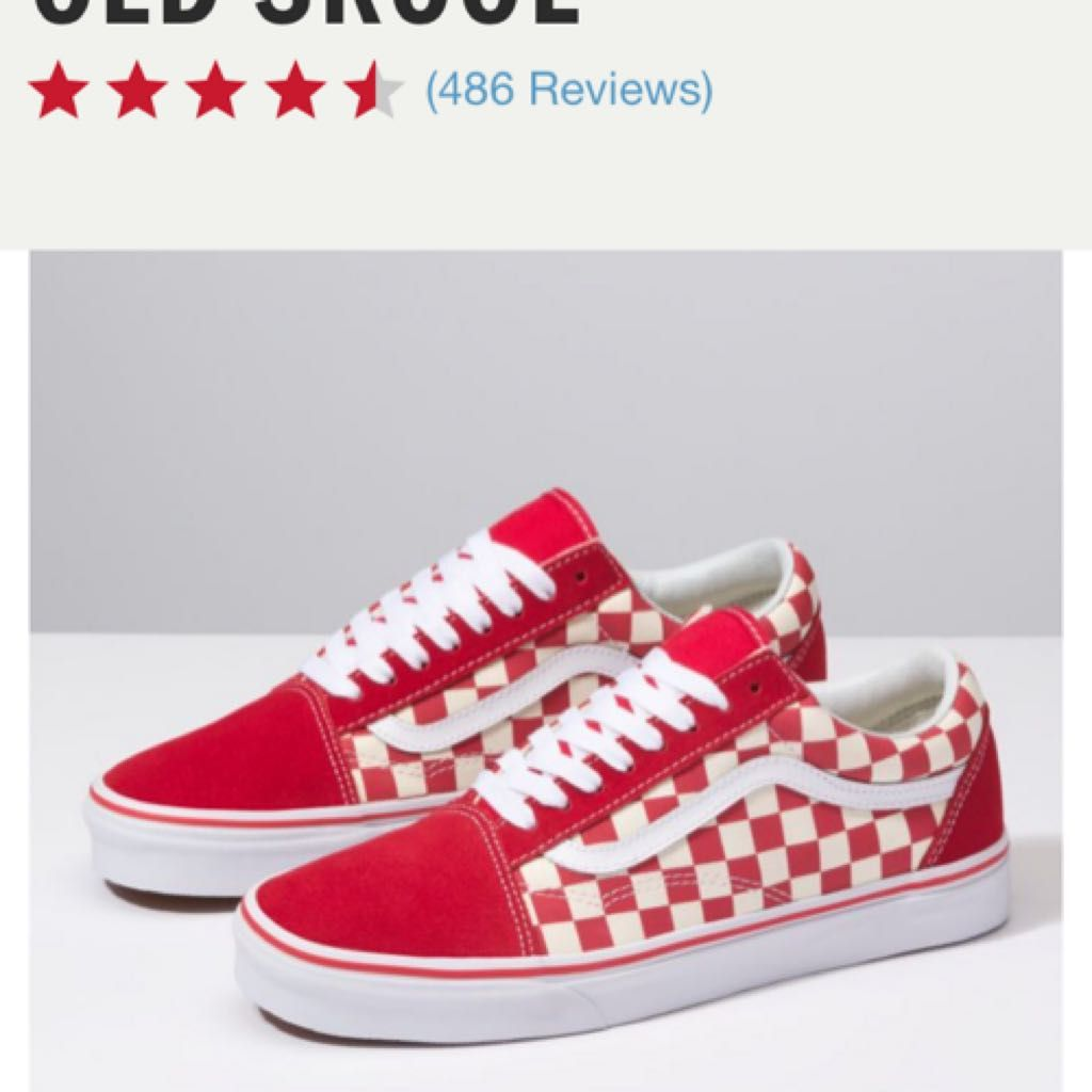 Red Checkered Vans Giftryapp Red Checkered Vans Red