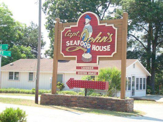 Captain John S Seafood House Calabash Nc Seafood House Calabash North Myrtle Beach