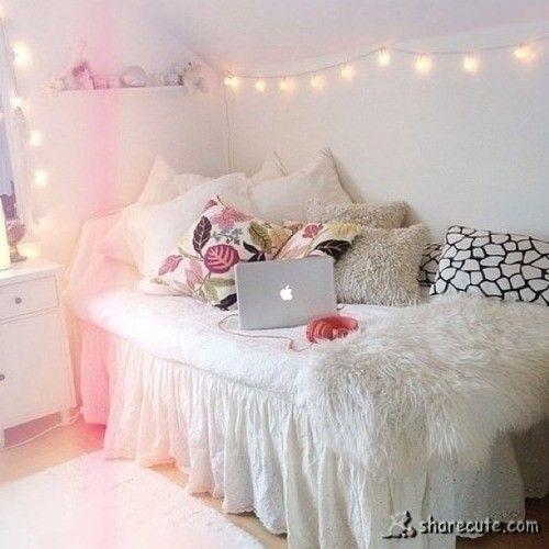 Pretty Room Bedroom Inspo Decor Ideas Cozy Bed