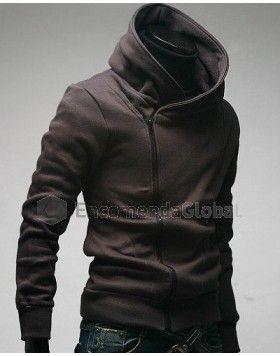 jaqueta masculina com capuz e z per assim trico moda homem pinterest mode homme v tements. Black Bedroom Furniture Sets. Home Design Ideas