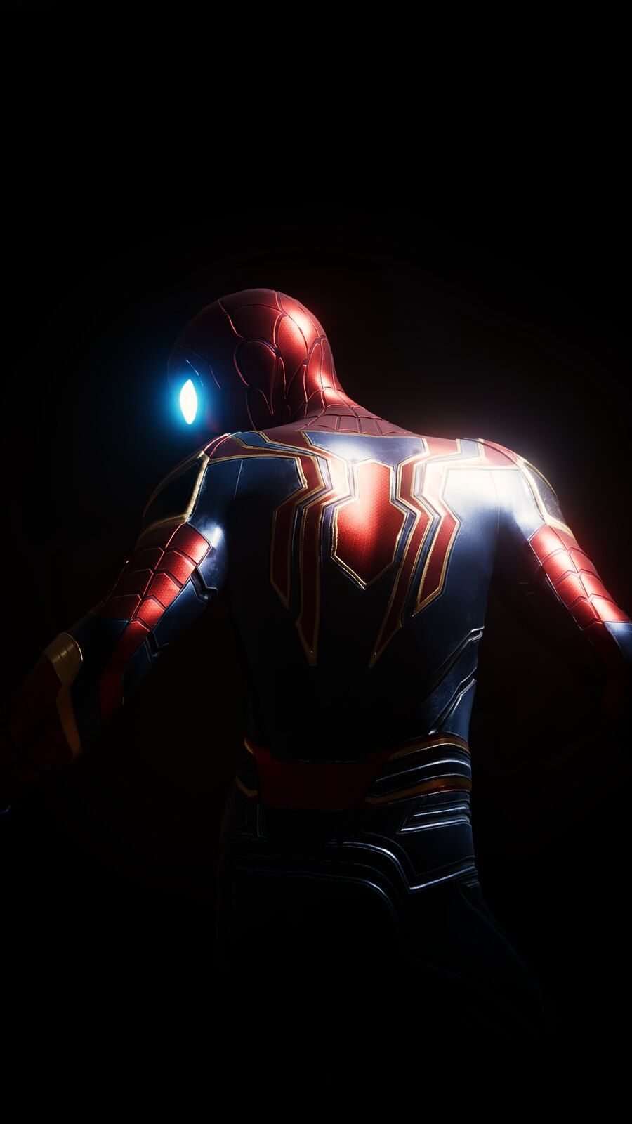 Spiderman Iphone Wallpaper Spidermanmcu Spiderman Iron Spider Amazing Spiderman Iron spider spider man dark wallpaper