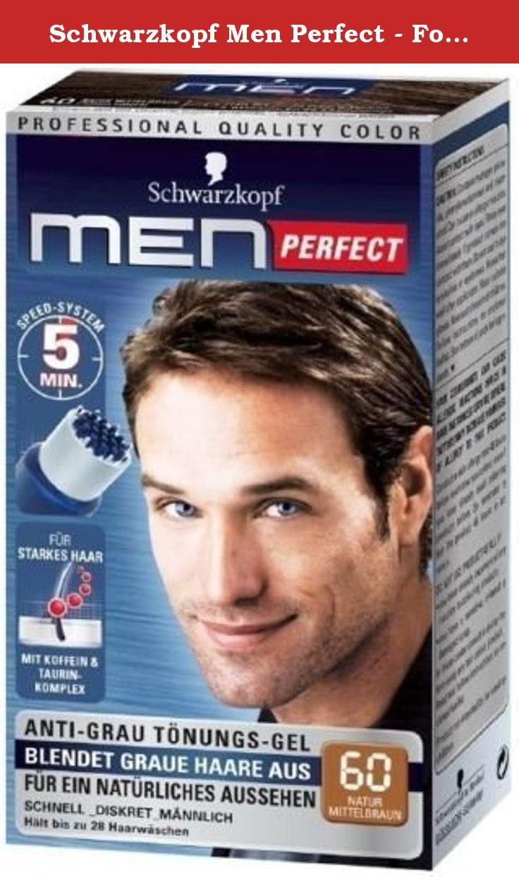Schwarzkopf Men Perfect For Men Gentle Hair Color Gel M