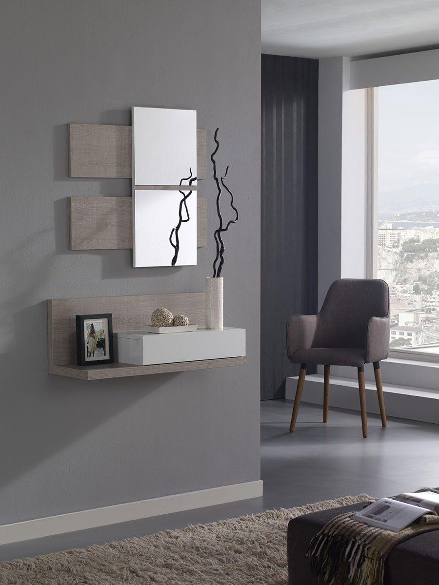 Meuble D Entree Avec Miroir Contemporain Ingres En 2020 Meuble Entree Deco Entree Maison Et Meuble