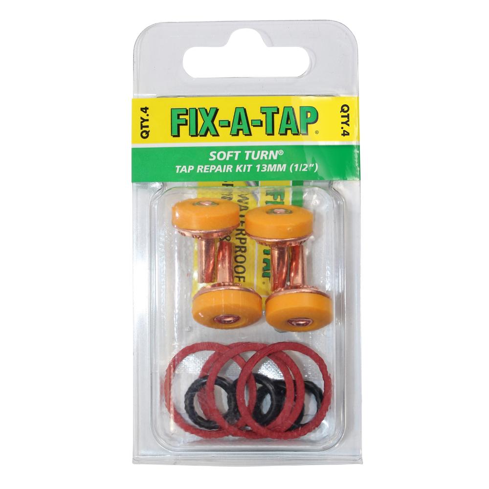 FIXATAP Soft Turn Repair Kit 4 Pack Repair, Kit