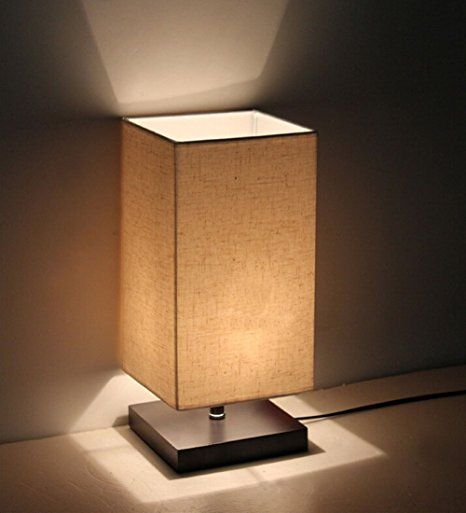 Minimalist Solid Wood Table Lamp Bedside Desk Lamp  Desk Setup Amazing Lamp Bedroom Inspiration