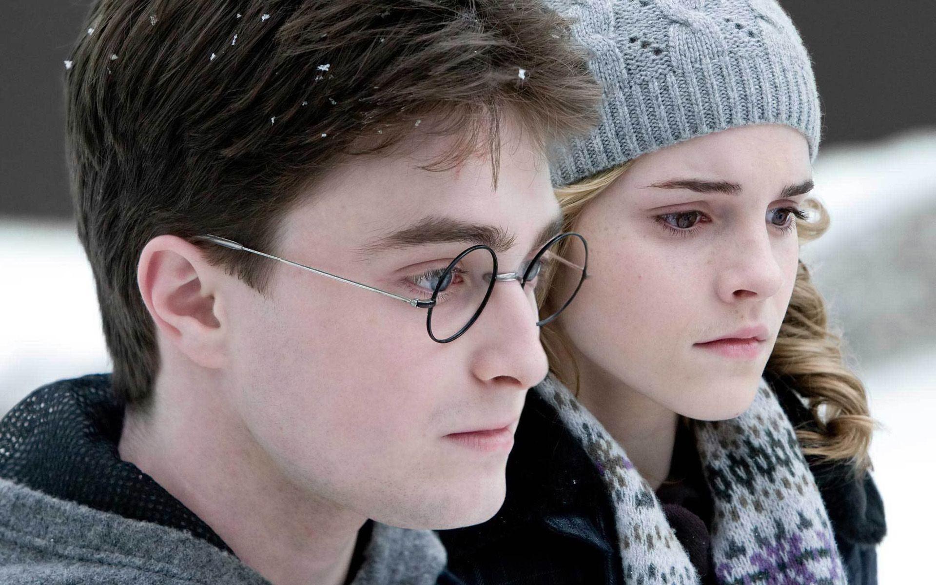 Гарри Поттер и Гермиона Грейнджер | Гарри поттер, Гарри ...
