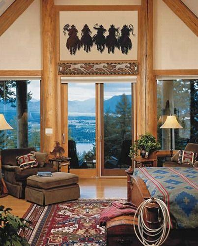 southwestern equestrian home Dream home! Pinterest Western
