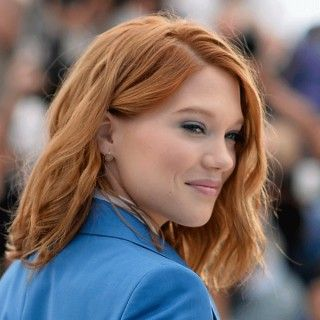 lea seydoux und ihre haarfarbe frisuren pinterest rotes haar haar ideen und. Black Bedroom Furniture Sets. Home Design Ideas