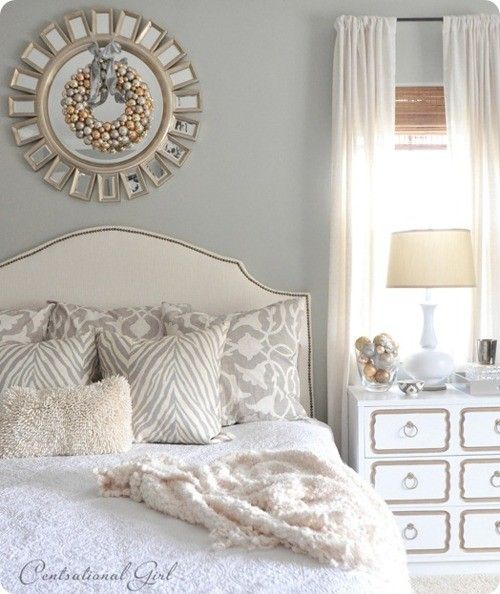 Silver and Gold Bedroom Design | home | Pinterest | Gold bedroom ...