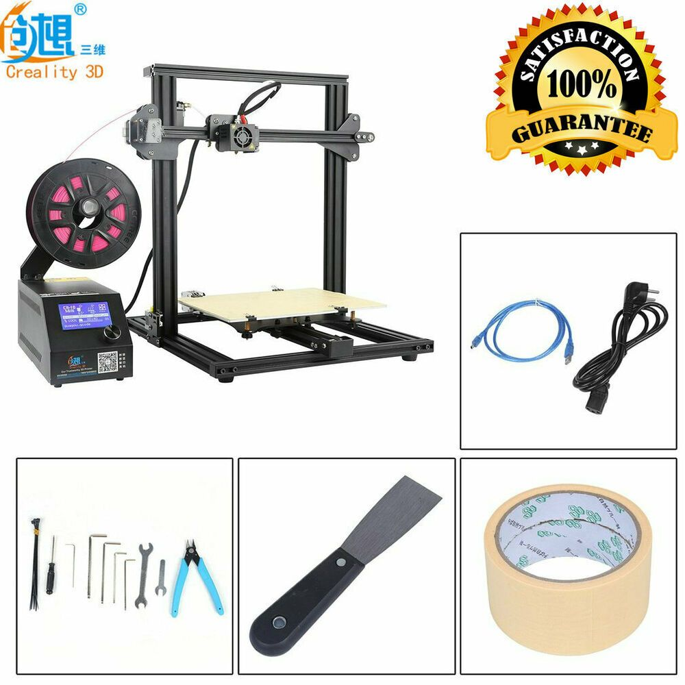 eBay #Sponsored Creality CR-10 Mini Pre-Assembled 3D Printer High