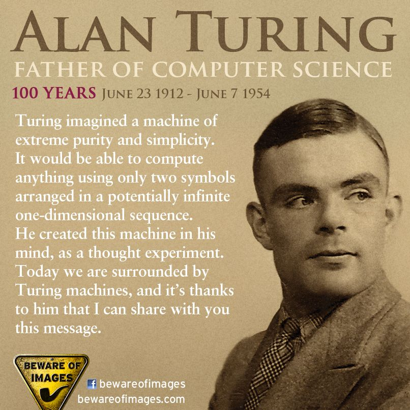 Brilliant Man. Alan Turing, War Hero! Thank You, So