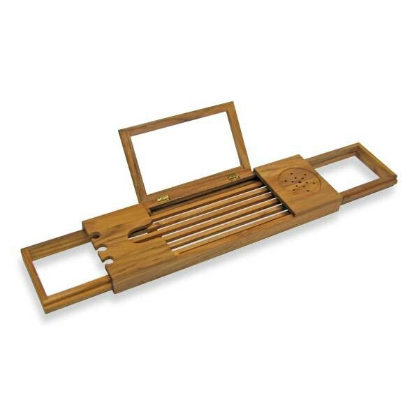 Teak Bathtub Tray Caddy - $39.99. Bed Bath and Beyond registry ...