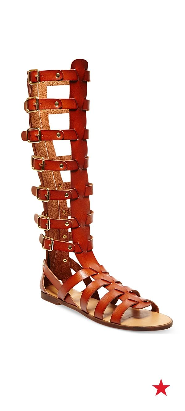 ae5722ea0f3 Festival fashion is now everyday fashion thanks to the stylish gladiator  sandal trend. This cool pair from Madden Girl would look amazing with a  floral ...