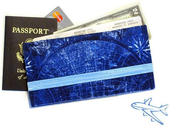 Passport boarding pass wallet world map blue family of 4 5 6 passport boarding pass wallet world map blue family of 4 5 6 passport case long travel wallet fabric travel document holder travel gift gumiabroncs Image collections