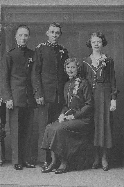 Salvation Army wedding, 1920   Flickr - Photo Sharing!