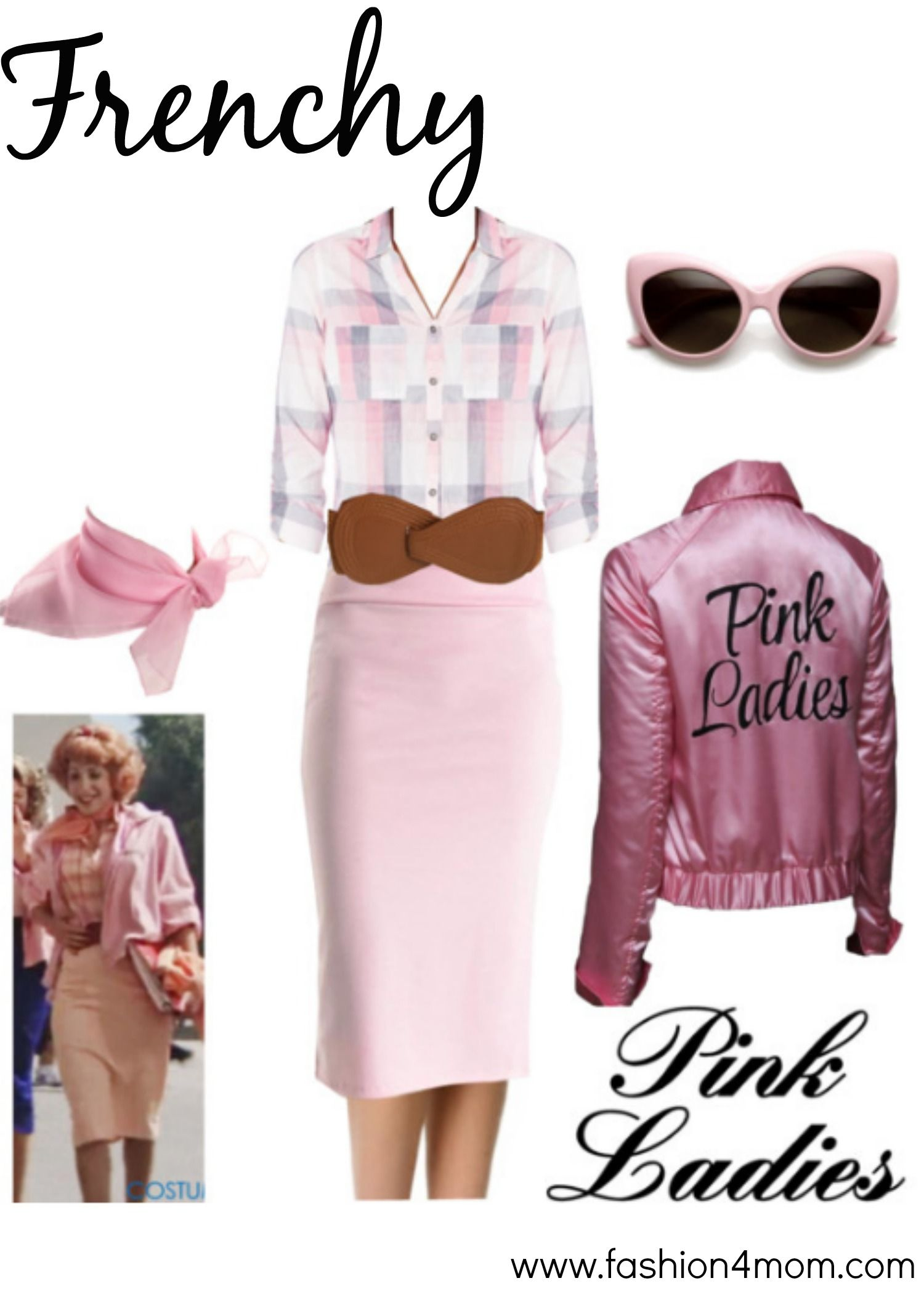 grease costume idea the pink ladies t birds sandy