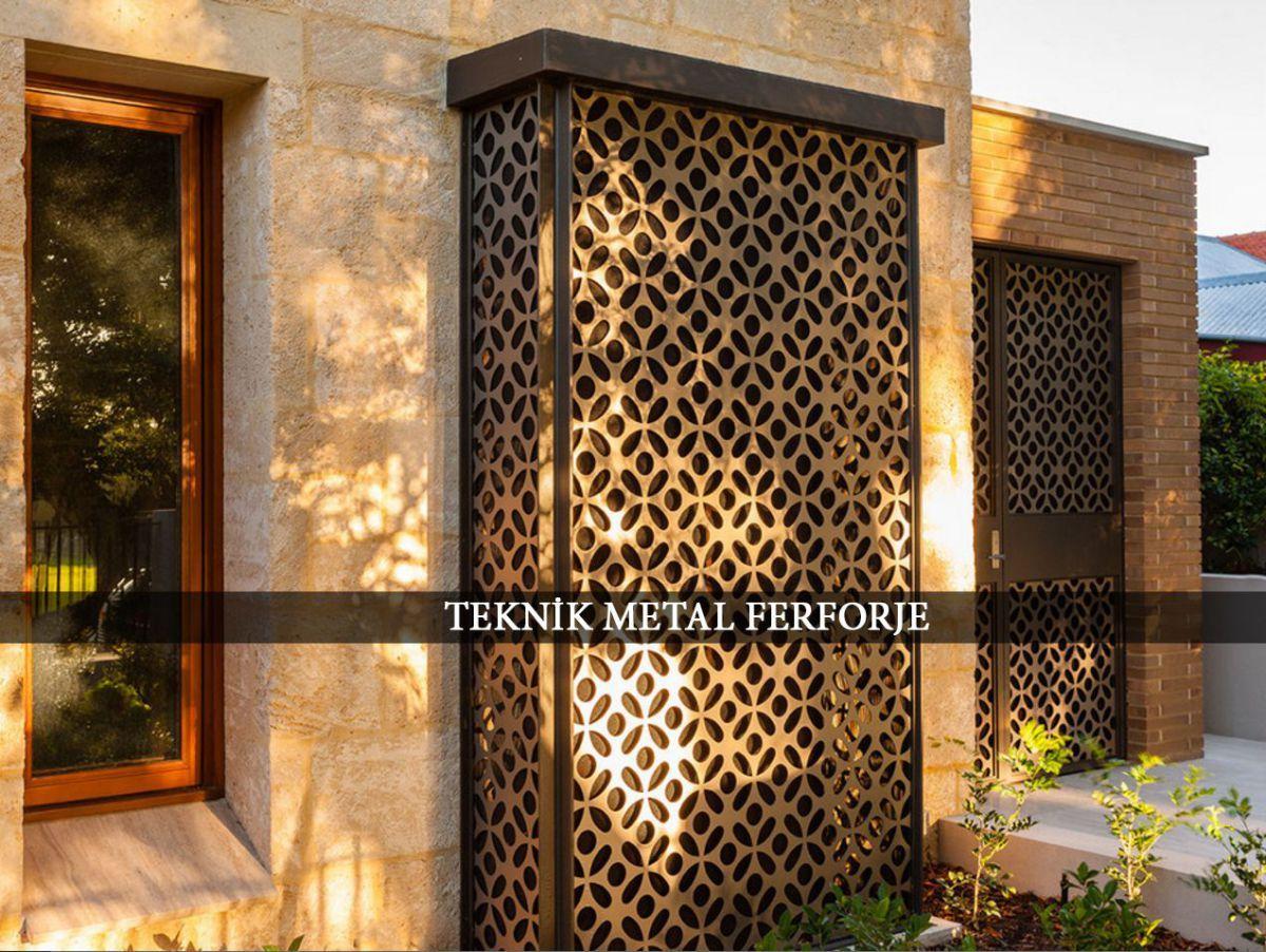 Lazer Kesİm Dekoratİf Duvar Panellerİ Duvar Tasarım Metal