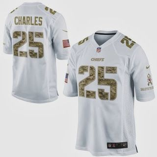 buy online 486b6 a4c57 Nike Jamaal Charles #KansasCity #Chiefs #NFL Salute to ...
