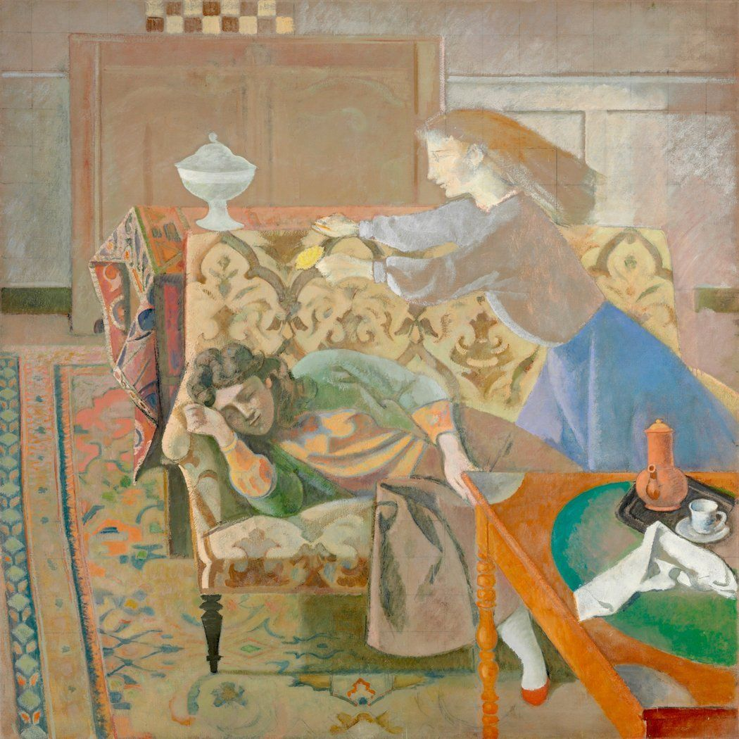 La Chambre Turque Balthus Related Image Balthus Art Art Gallery Painting