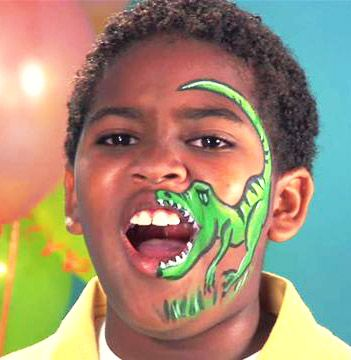 21 creepy and cool halloween face painting ideas - Halloween Face Paint Ideas For Children