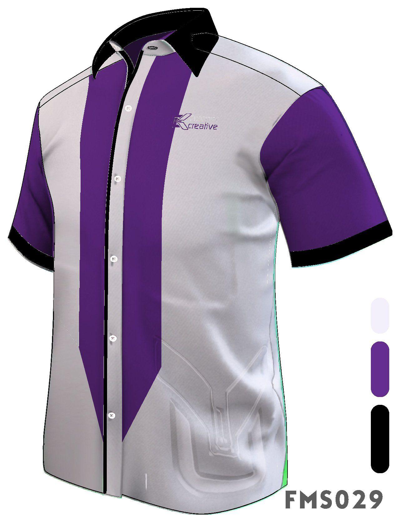 Custom Made Design Uniform Creeper Creative Menerima tempahan baju korporat custom made lengan pendek, third quarte, panjang dan muslimah. Material kain viscose pelbagai pilihan warna.