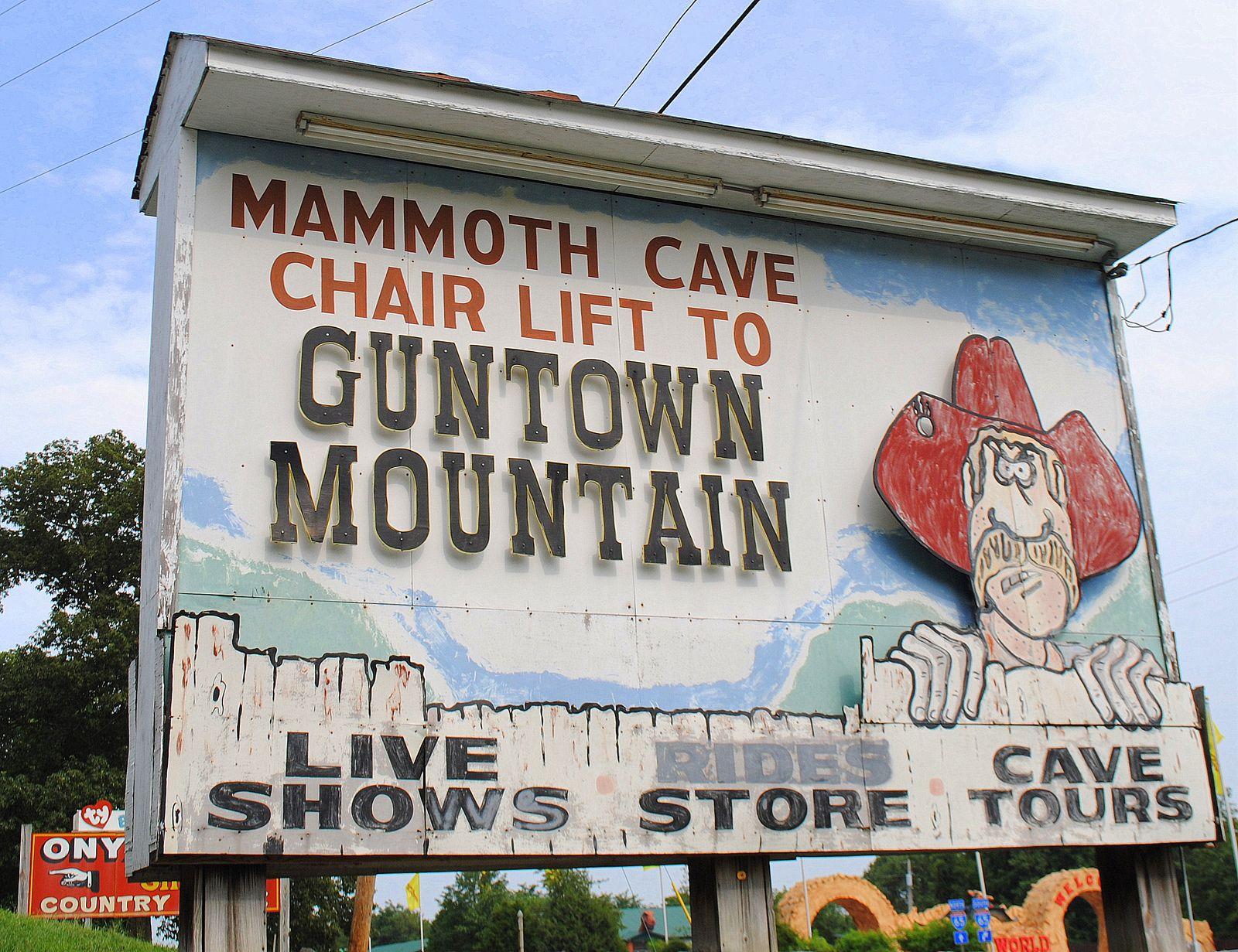 Guntown Cave City Tourist Sites Mammoth Cave